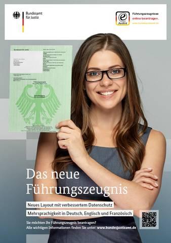 Plakat Führungszeugnis [(c)André Kleber]